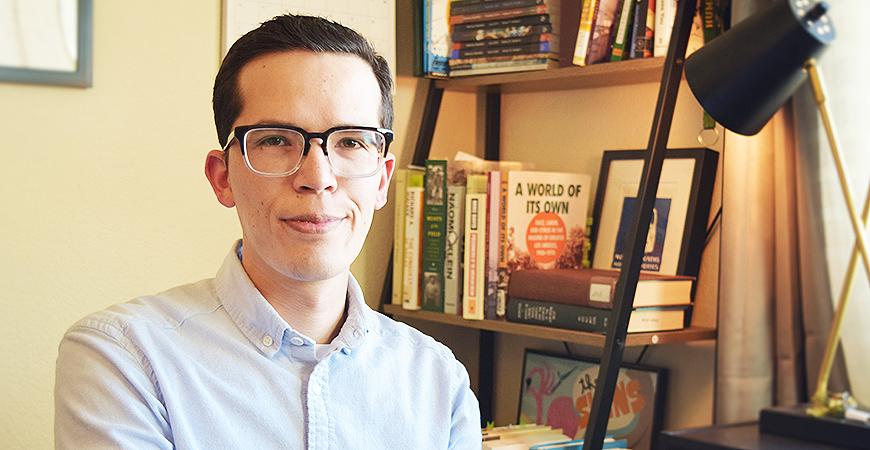 Male Interdisciplinary Humanities graduate student Ivan G. Soto